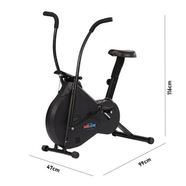 AIBI Gym AB-B328hp 2way bike dimension