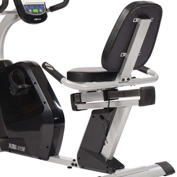 AIBI Gym Recumbent B-165R Seat adjustment