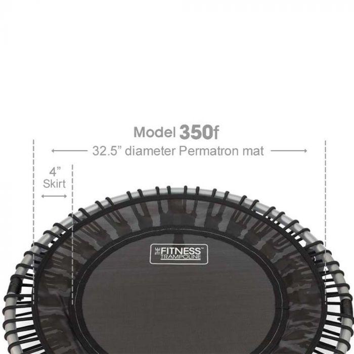 Jumpsport AB-JS350F Foldable Fitness Trampoline dimension