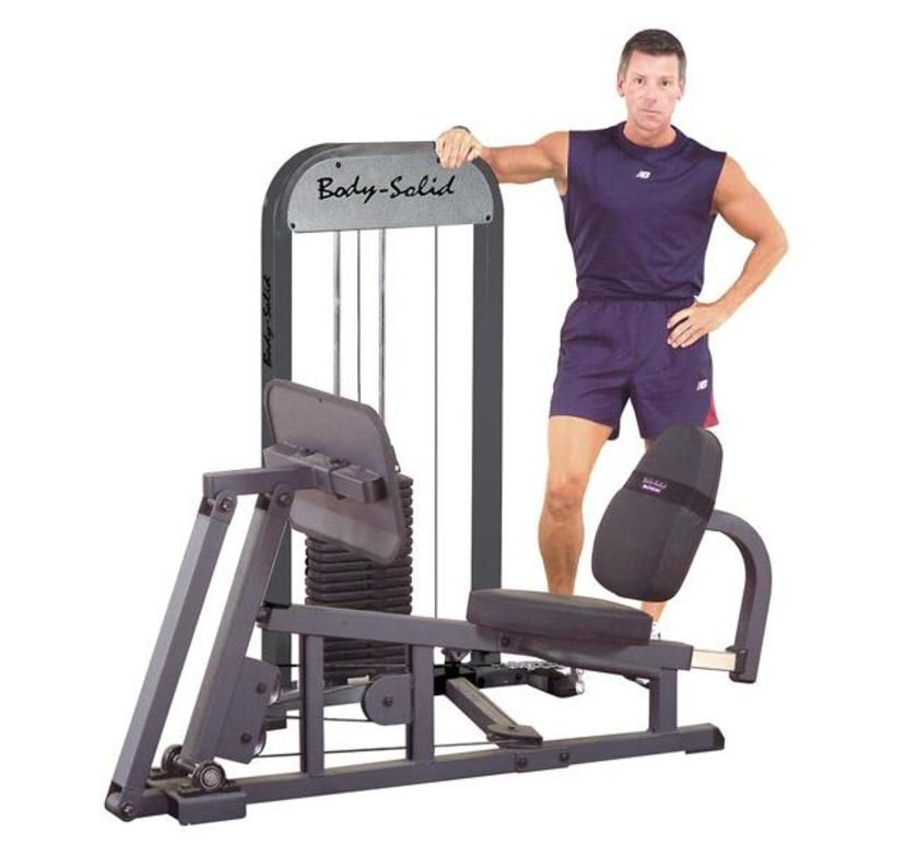 Body Solid Leg and Calf Press Machine