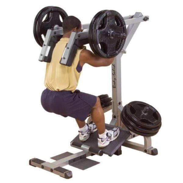 Body Solid Leverage Squat Calf Machine