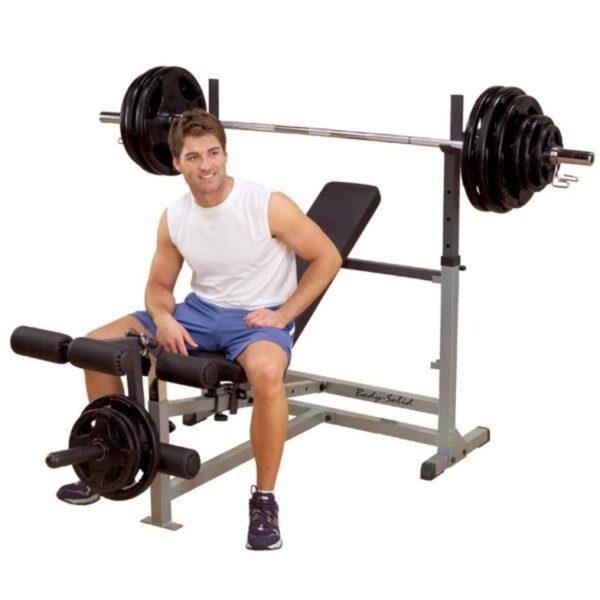 Body Solid PowerCenter Combo Bench