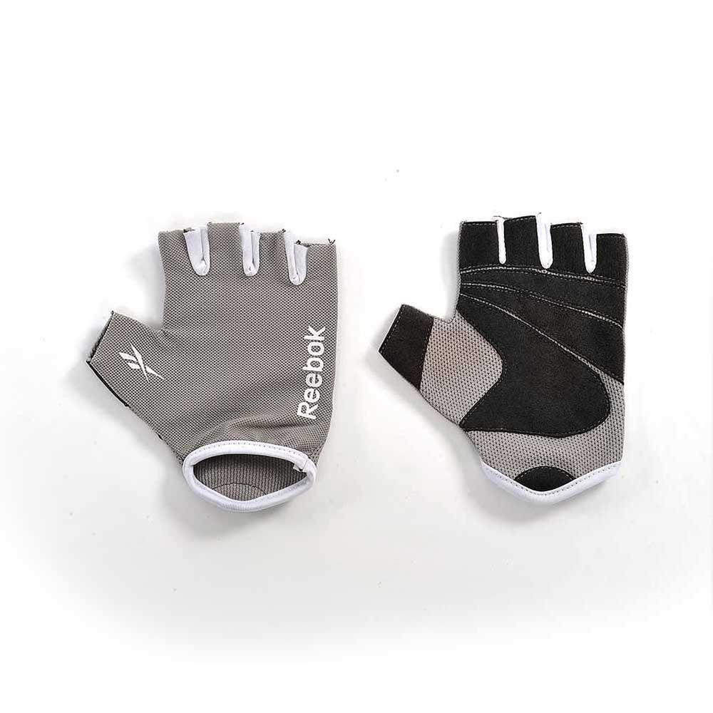 REEBOK Elements Fitness Gloves - Grey/Cyan/Magenta/Black