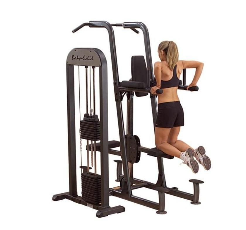GVKR-82 Weight Assisted Chin-Dip Machine