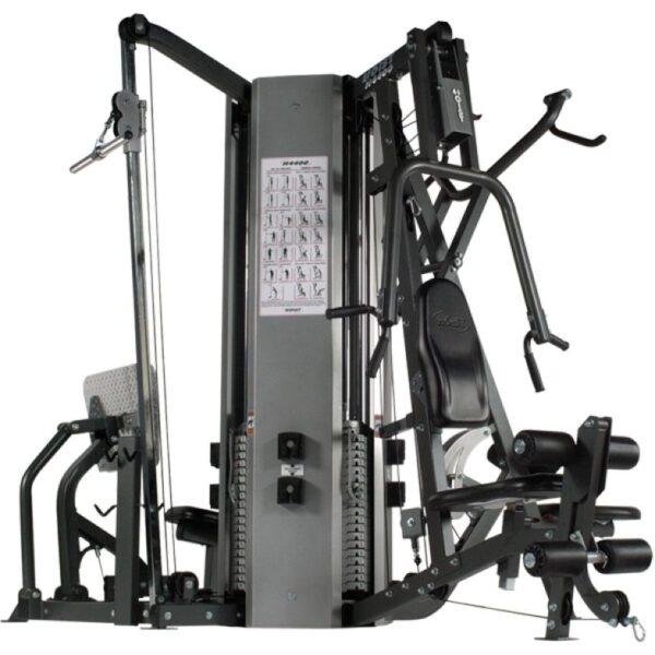 H-4400 4 Stack Multi Gym