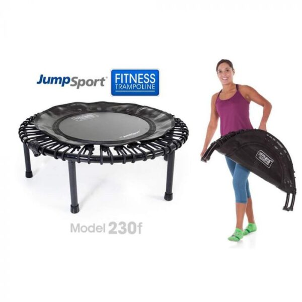 jumpsport js-230f foldable fitness trampoline