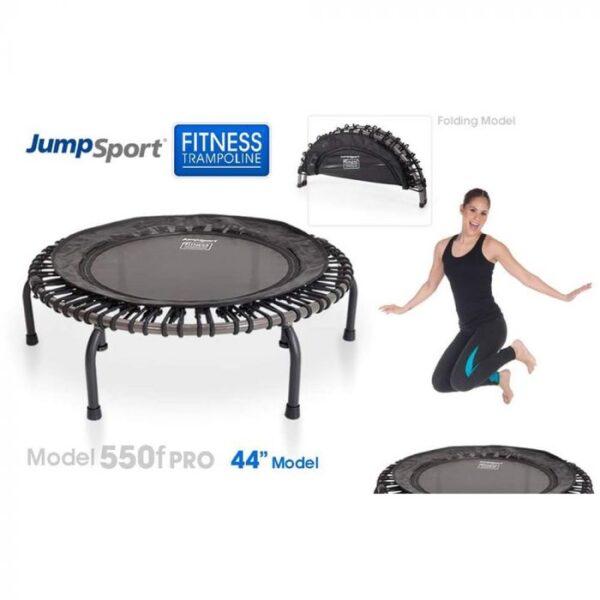 jumpsport js550f foldable pro fitness trampoline