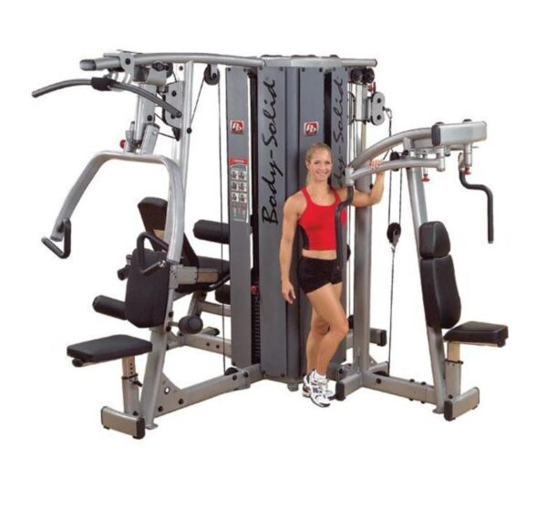 Pro Dual 4-Stack Gym Frame