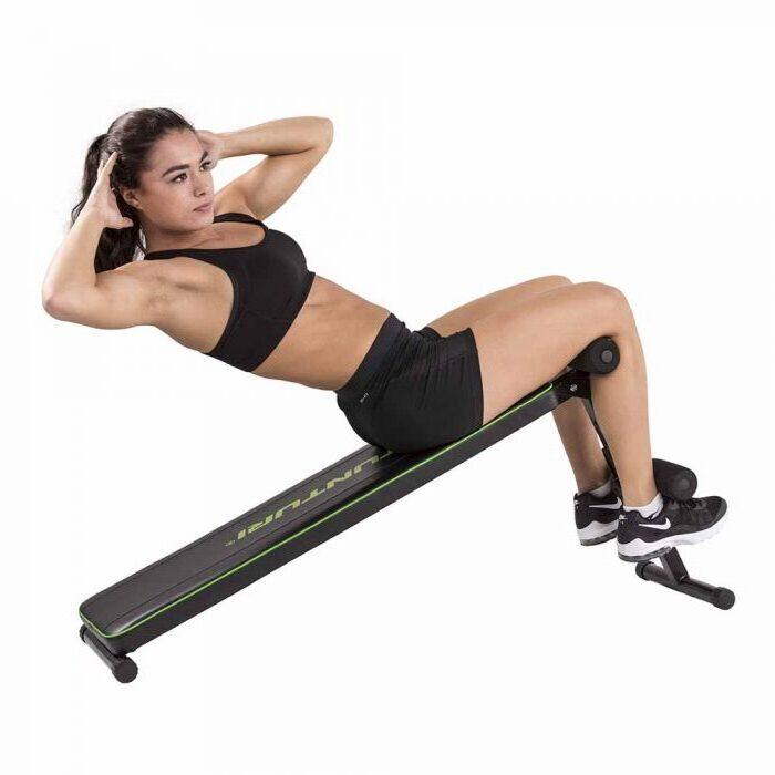 tunturi utility bench ab20 abs trainer