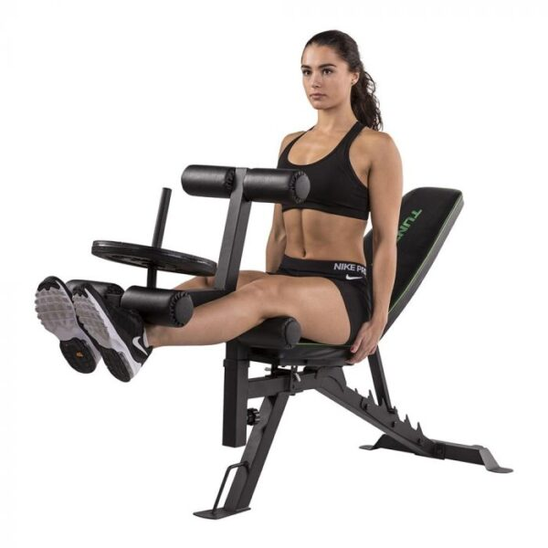 tunturi utility bench ub60 leg extension