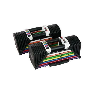 PowerBlock Urethane Series PB-U90 Dumbbell Set