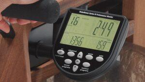 waterrower monitor performance