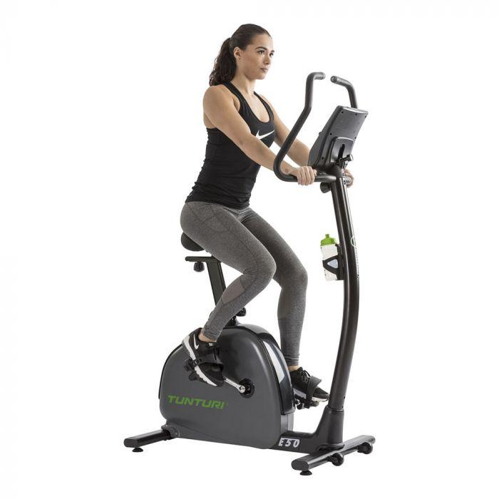 Tunturi TU-E50 exercise bike model demo