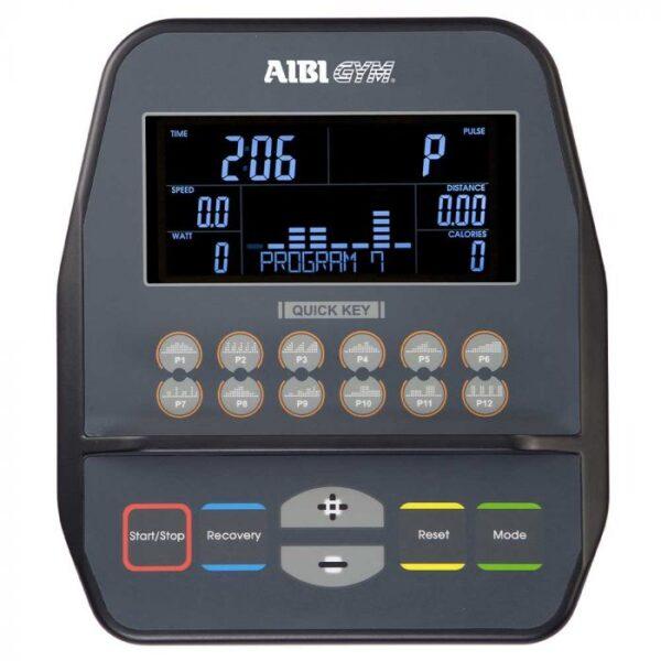 aibi gym recumbent bike ab-r60 console