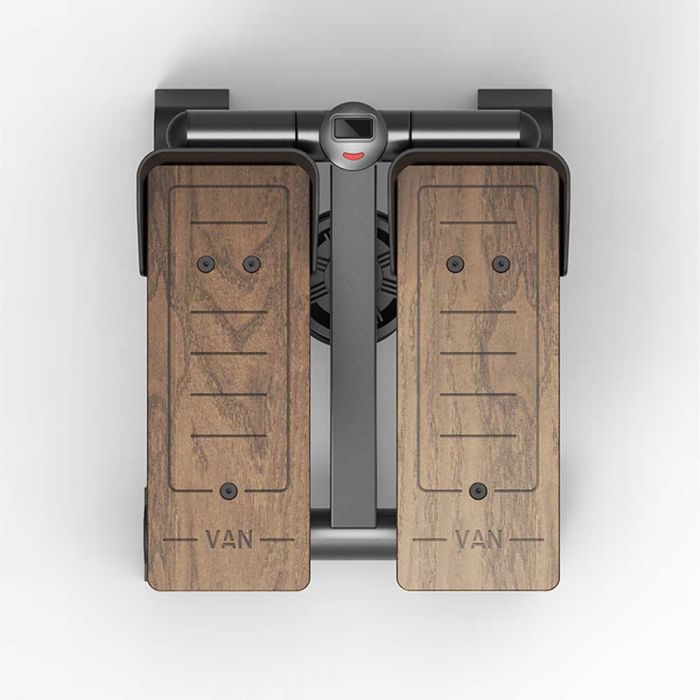 wooden series fitness stepper top view