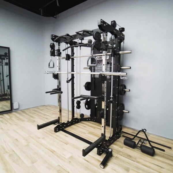 AIBI gym multi functional trainer ab-mft3 sideview