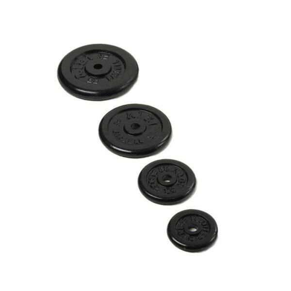 black cast iron weight plates